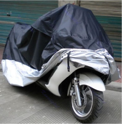 XXXL Motorcycle Cover Dust Rain Waterproof Cover Scooter Motorbike Protective