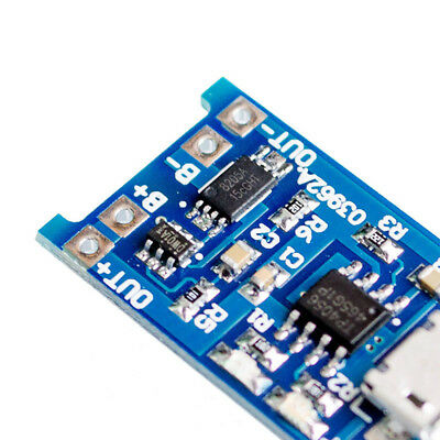 2PCS Micro USB 1A 5V 18650 Lithium Battery Charging Board Charger Module