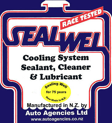 SEALWEL COOLING SYSTEM SEALANT & CLEANER BULK QTY - free shipping to U.S./CANADA