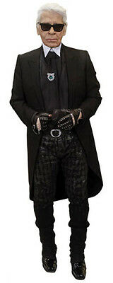 Karl Lagerfeld Life Size Celebrity Cardboard Cutout Standee
