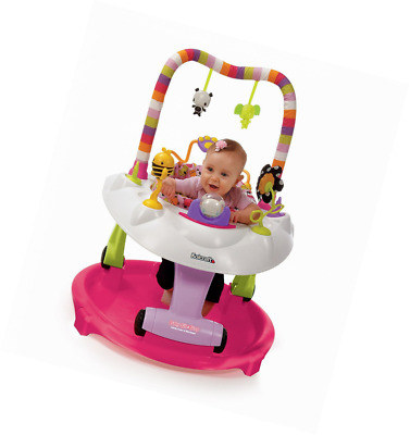 Kolcraft Baby Sit and Step 2-in-1 Activity Center - 360° Spin Seat, 10 Fun Devel
