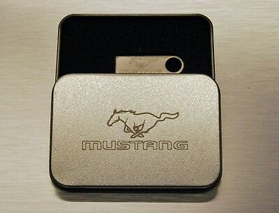 New Ford Mustang Press Releases & Technical Specification on Personalised USB