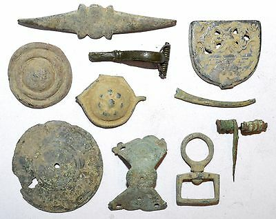 Lot Of 10 Ancient / Medieval / Modernartifacts For Cleaning -  Stunning - K650