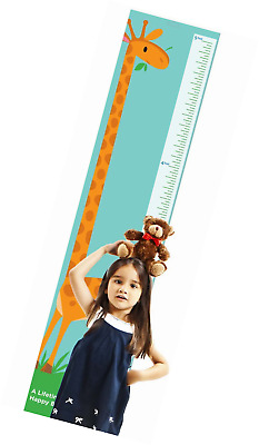 Giraffe Growth Chart by Americord - Hanging height measurement chart for baby, b
