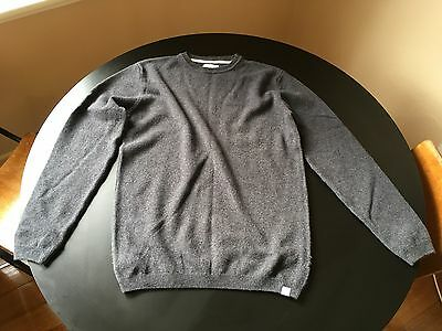 Norse Projects Grey Wool Jumper
