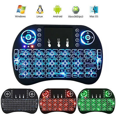2.4Ghz Mini Wireless Keyboard Fly Air Mouse Touchpad For PC XBMC Smart TV X Box