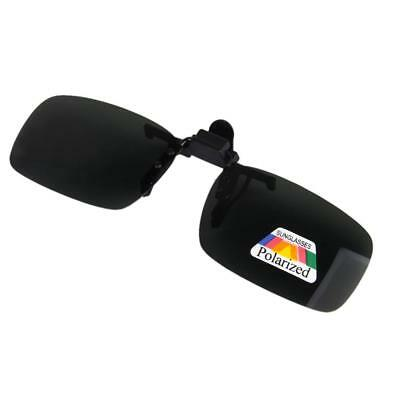 UV Polarized clip-on flip-up miopia Occhiali da sole Lente di guida
