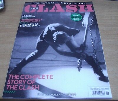 Uncut magazine Ultimate Music Guide #8 2017 The Clash Songs Reviews Interviews