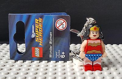 Wonder Woman Official Lego Keyring - Brand New Superheroes Super Heroes (853433)