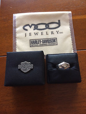 Harley Davidson Gold Knight Ring