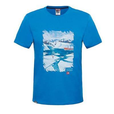 T-shirt The North Face Never Stop Exploring banff blue