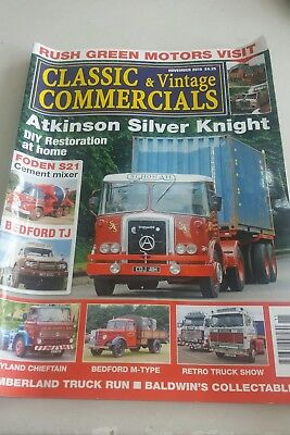 classic and vintage commercials - november 2015 - bedford foden leyland atkinson