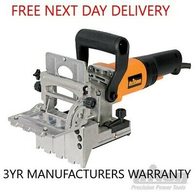 Triton Tdj600 710W Duo Dowel Jointer 32Mm Spacing Moveable Fence 8Mm Bits 186171