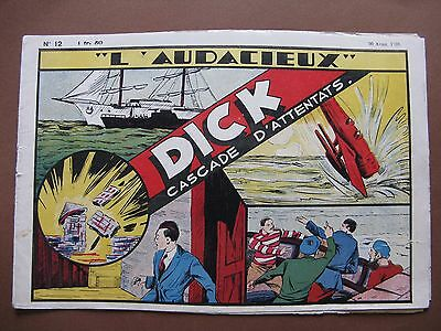 COLLECTION L'AUDACIEUX  n° 12  Dick