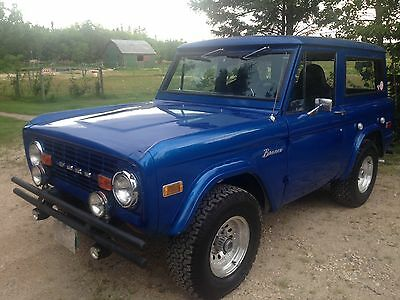 1976 Ford Bronco 2 door 1976 ford bronco
