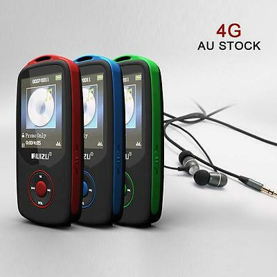RUIZU X06 4GB Portable Bluetooth MP3 Music Player with FM Radio Recorder DA