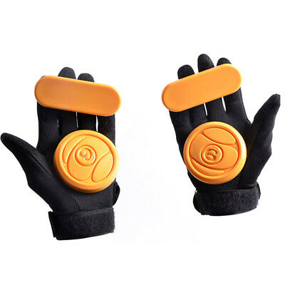1pc Skateboard/Longboard Sliding FreeRide Gloves Replacement POM Palm Pucks