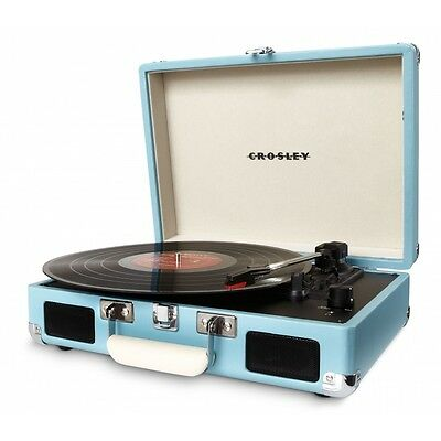 Crosley cruiser retro vinyl record player turntable white picclic - Lecteur vinyle retro ...