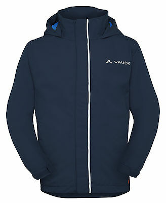 Vaude Kinder Regenjacke, Regen Jacke, Kids Escape Light in blau  Gr: 110 / 116