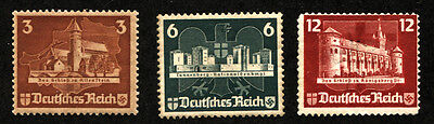 GERMANY Deutsches Reich OSTROPA 1935 SC# B68abc Stamps Postage MINT LH