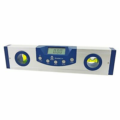 """Moore and Wright 225mm (9"""") Digital Level With Cross Hair Laser 0.5 Resolution"""