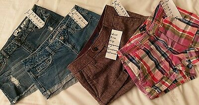 "American Eagle  Womens Shorts size 2   31"" Waist   Gap size 8   lot"