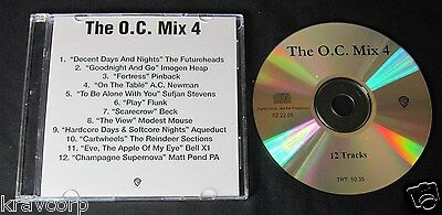 Beck/modest Mouse 'The O.c.: Mix 4' 2005 Advance Cd