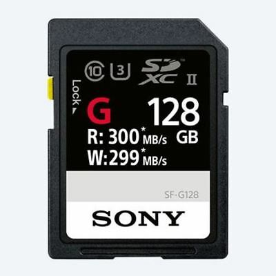 Sony SF-G Series UHS-II SD 300 MB/s Ultra High Speed Memory Card for 4K imaging