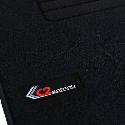 4 Tapis Sol Citroen C2 Airplay Collection Moquette Logo Edition Specifique