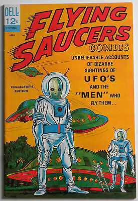 Flying Sacuers Comics 1 Dell UFO Nice