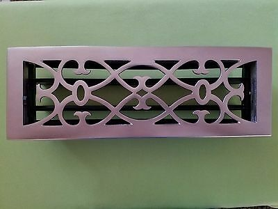 Register Floor Grate (New) Brushed Metal (Air) 1/ea