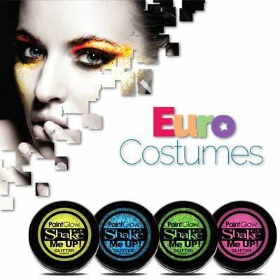 Paintglow UV Neon Holographic Face & Body Glitter Festival Clubbing Make Up