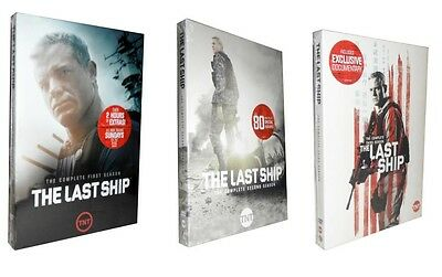 The Last Ship: The Complete Seasons 1-3 (DVD, 2017, 9-Disc Set) 1 2 3