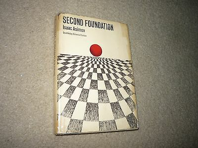 Second Foundation Isaac Asimov Doubleday Hardcover 2nd Edition