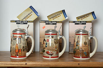 Budweiser Marketing Milerstones Series boxes and COAs 3 of 3 in series.