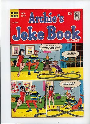 Archie's Joke Book #108 Silver Age