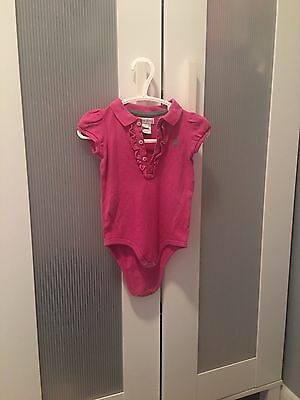 Baby Girl Ralph Lauren 9 Months Top