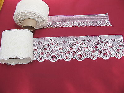 48 Yards Vintage Filet Lace Trim