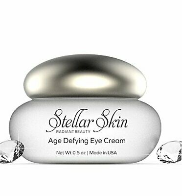 Anti Aging Eye Cream with Hyaluronic Acid from Stellar Skin, Anti Wrinkle