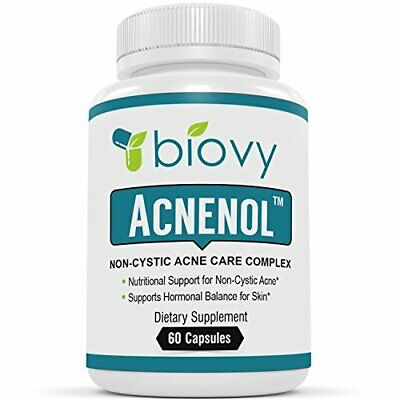 ACNENOL™ - #1 Noncystic Acne Pills by Biovy - Acne Supplement