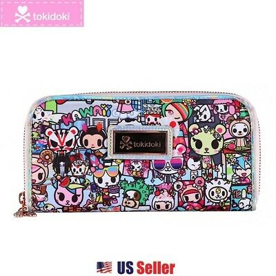 Tokidoki Zip Around Long Wallet Donutella : Kawaii Metropolis Collection