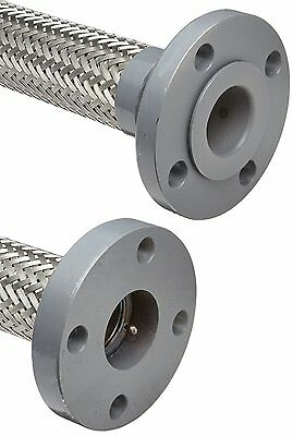 "Unisource SF21 Stainless Steel Flexible Metal Hose Assembly, 2"" Stainless Steel"