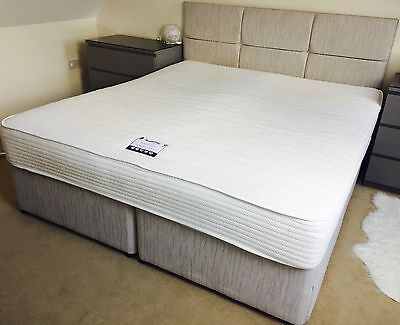 Vintage bed slumberland picclick uk for Super king size divan bed with storage