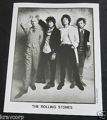 THE ROLLING STONES—1990s PUBLICITY PHOTO