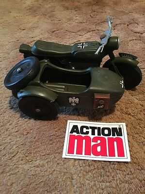 rare vintage action man cherilea motorcycle and sidecar spares picclick uk. Black Bedroom Furniture Sets. Home Design Ideas