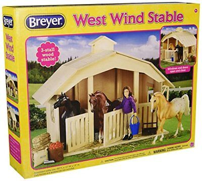 Breyer Classics West Wind Horse Stable