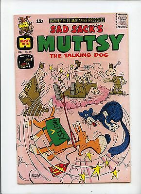 Sad Sack's Muttsy the Talking Dog #113 Silver Age