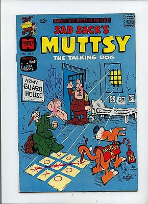 Sad Sack's Muttsy the Talking Dog #115 Silver Age