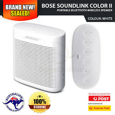 NEW BOSE Soundlink Color II Portable Bluetooth Wireless Speaker - White Colour
