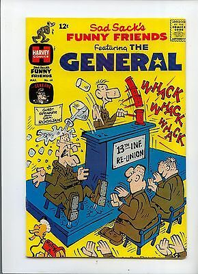Sad Sack's Funny Friends Featuring the General #68 Silver Age